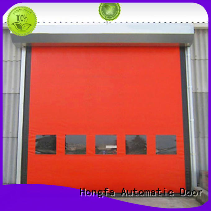 Hongfa competetive price auto-recovery door selfrepairing for cold storage room