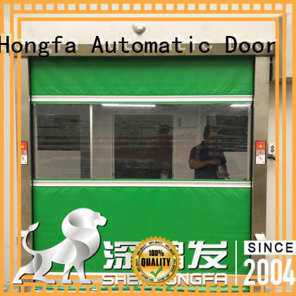 action PVC fast door marketing for storage Hongfa