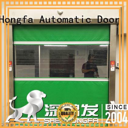 roll rapid roll up door interior for warehousing Hongfa