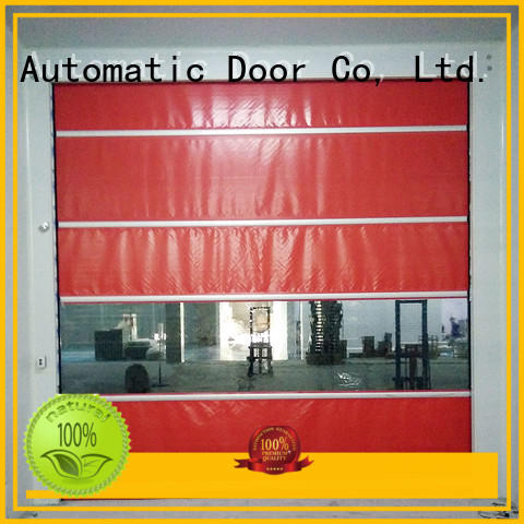 Hongfa door roll up doors interior in china for warehousing