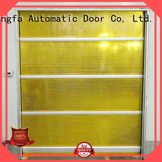 action PVC fast door factory price for factory Hongfa