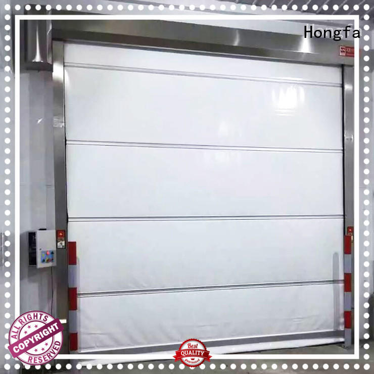 Hongfa high-quality roll up high speed door widely-use for warehousing
