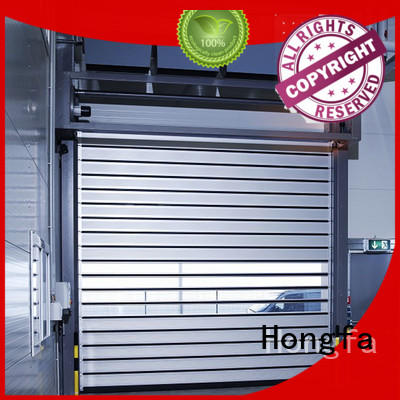 Hongfa door spiral door buy now for industrial warehouse