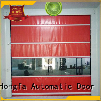 Hongfa professional high speed shutter door newly for factory