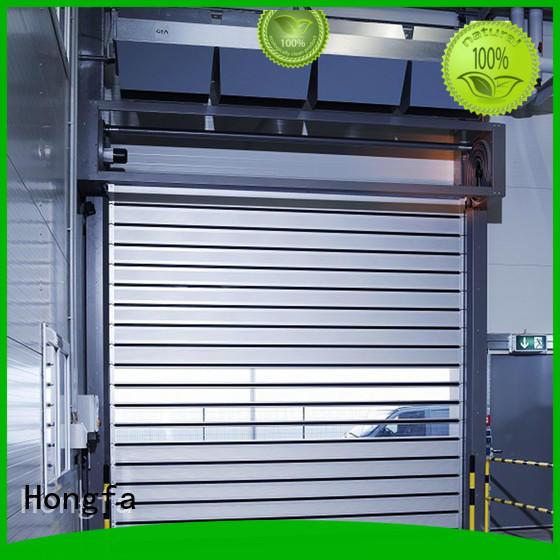 Hongfa speed spiral fast door buy now for industrial warehouse
