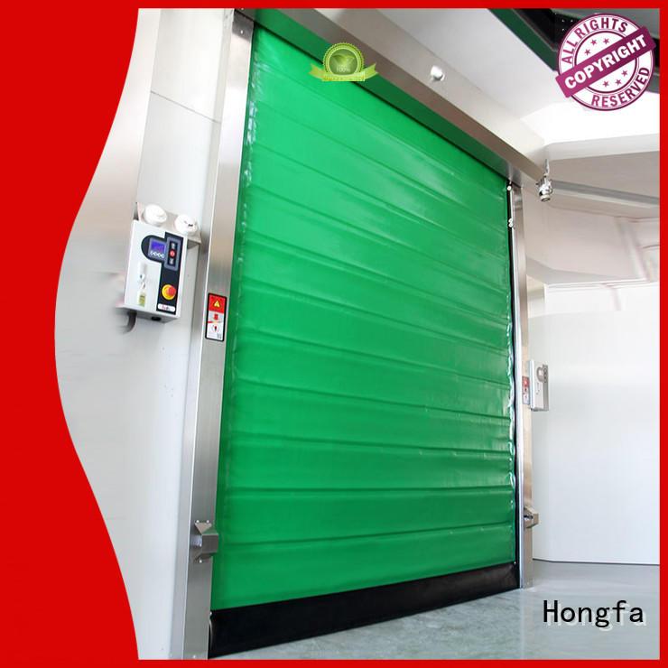 Hongfa foam fast door marketing for cold storage room