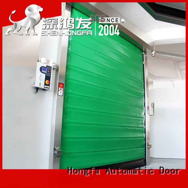 professional fast door pu popular for supermarket