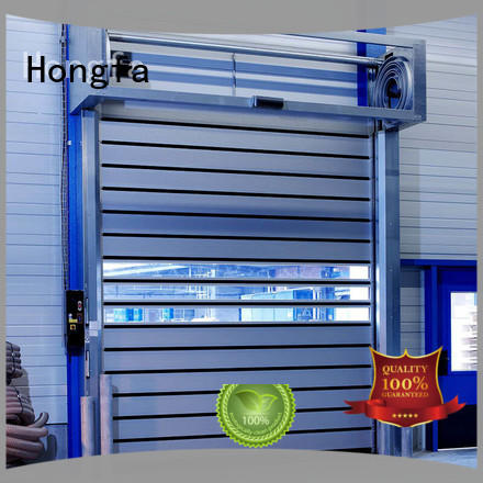 Hongfa high-quality security industrial fast door company for factory