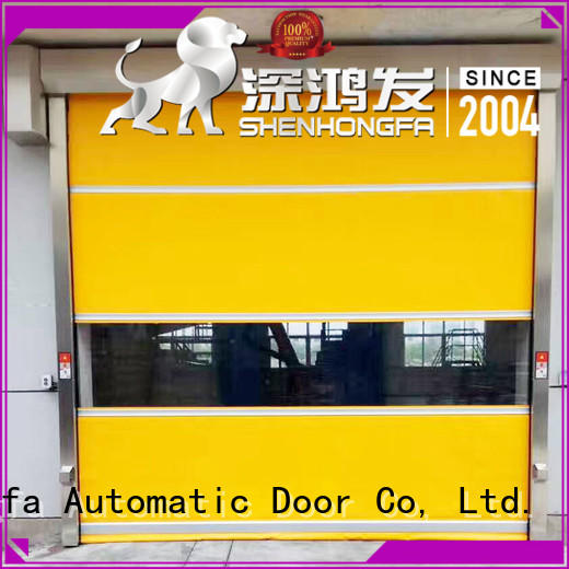 control roll up door in china for supermarket Hongfa