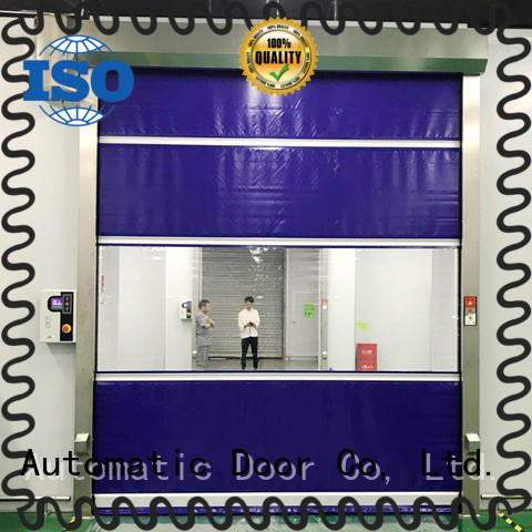 Hongfa automatic roll up doors interior widely-use for warehousing