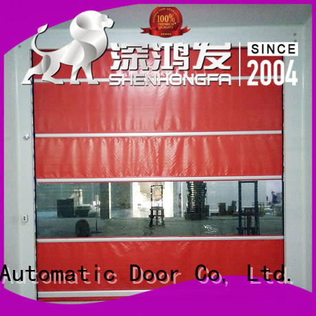 Hongfa best industrial door systems ltd company for food chemistry textile electronics supemarket refrigeration logistics