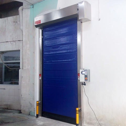 application fast door effectively for supermarket Hongfa
