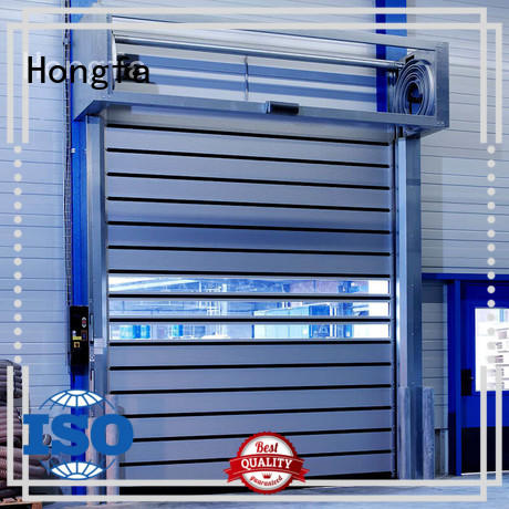 fashion design security industrial fast door automatic supply for factory
