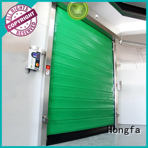 Hongfa high-speed cold storage doors overseas market for cold storage room