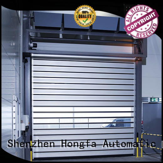 industrial security industrial fast door from china for factory Hongfa