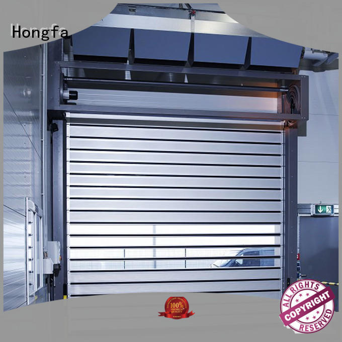 Hongfa professional spiral fast door dropshipping for factory