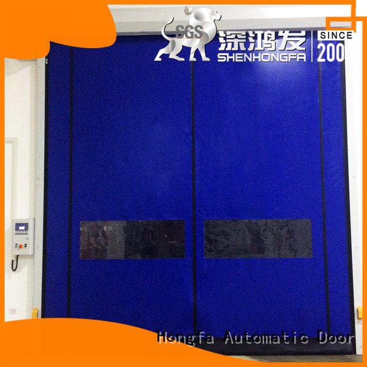 Hongfa zipper custom roll up doors for-sale for warehousing