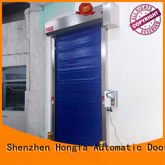 automatic cold storage doors manufacturer shutter for food chemistry