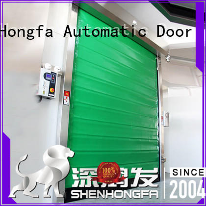 rapid fast door application for food chemistry Hongfa