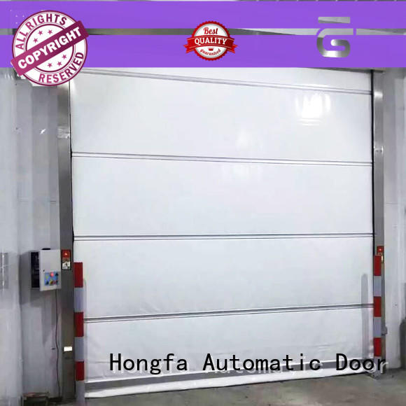 Hongfa shutter high speed shutter door factory price for storage