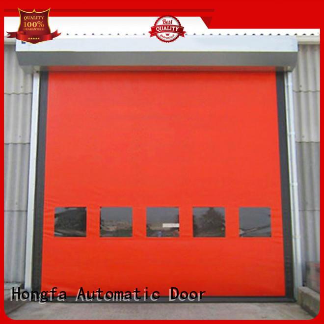 Hongfa door zipper door for warehousing