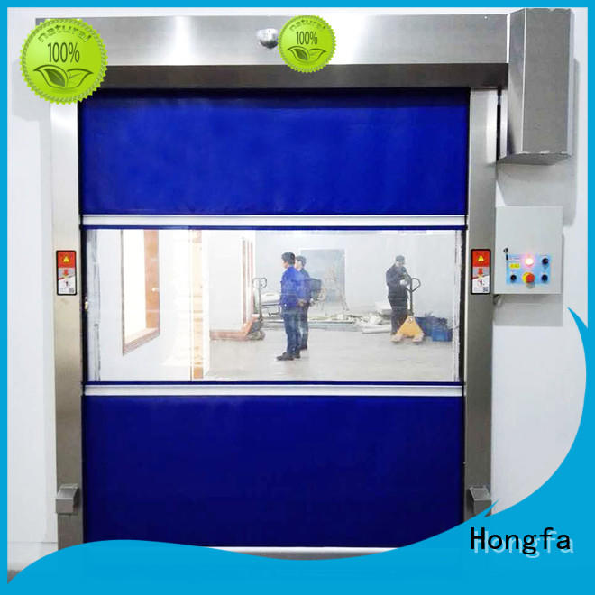 Hongfa action roll up doors canada for business for supermarket