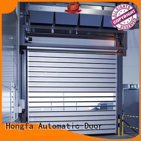 Hongfa high-tech spiral door supplier for industrial warehouse