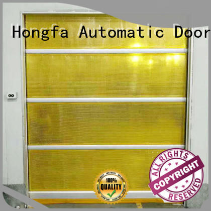 roll up doors interior curtain for supermarket Hongfa