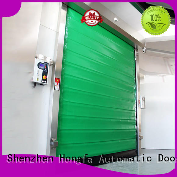 high-speed cold storage doors application owner for warehousing