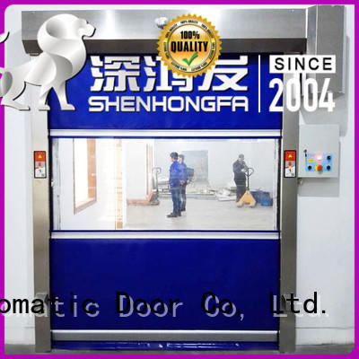 Hongfa professional pvc high speed door in china for factory