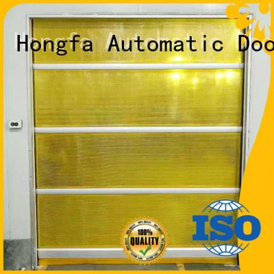 Hongfa professional high speed roller shutter doors rapid for storage