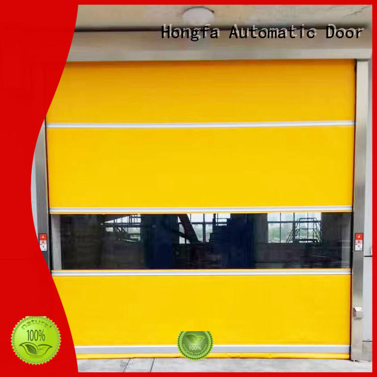 automatic pvc high speed door industrialin different color for supermarket