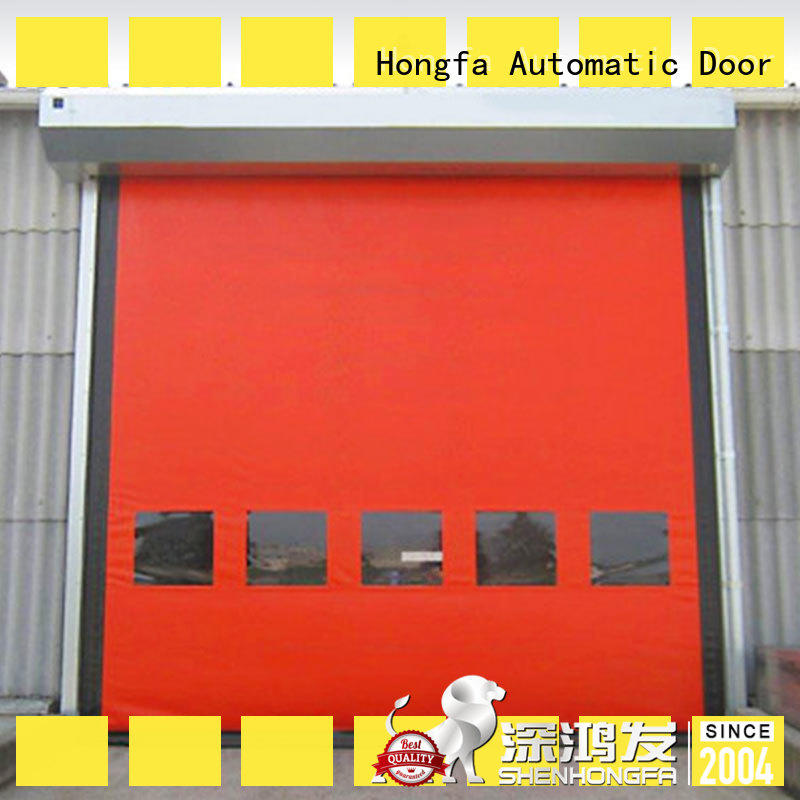 Hongfa door roller shutter doors owner for supermarket