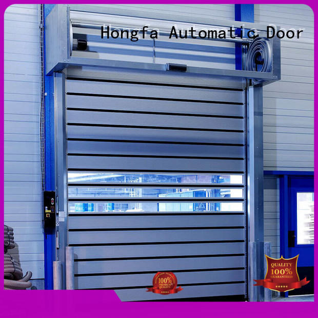 Hongfa door spiral fast door types for factory