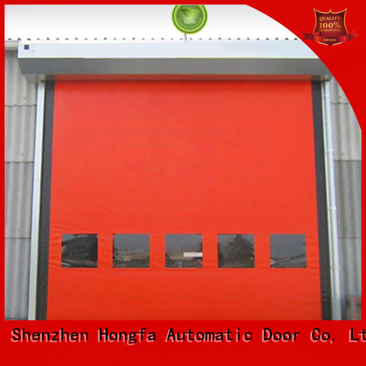 Hongfa hot-sale residential roll up garage doors prices for food chemistry
