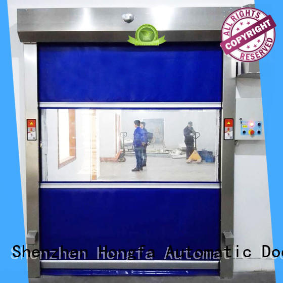 Hongfa professional commercial roll up door parts widely-use for storage