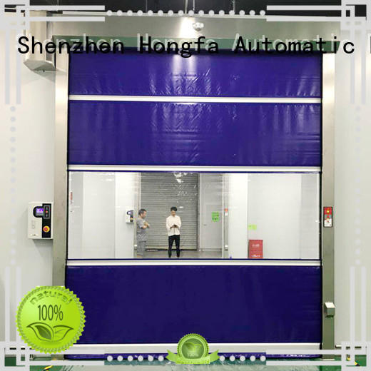 safe rapid roll up door rapid overseas market for factory