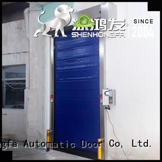 safe fast door storage for supermarket