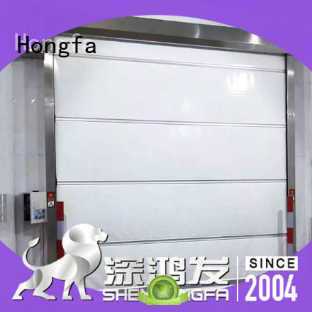 Hongfa high-quality industrial garage doors flexible for factory