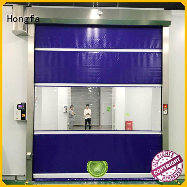 safe high speed shutter door clear supplier for storage