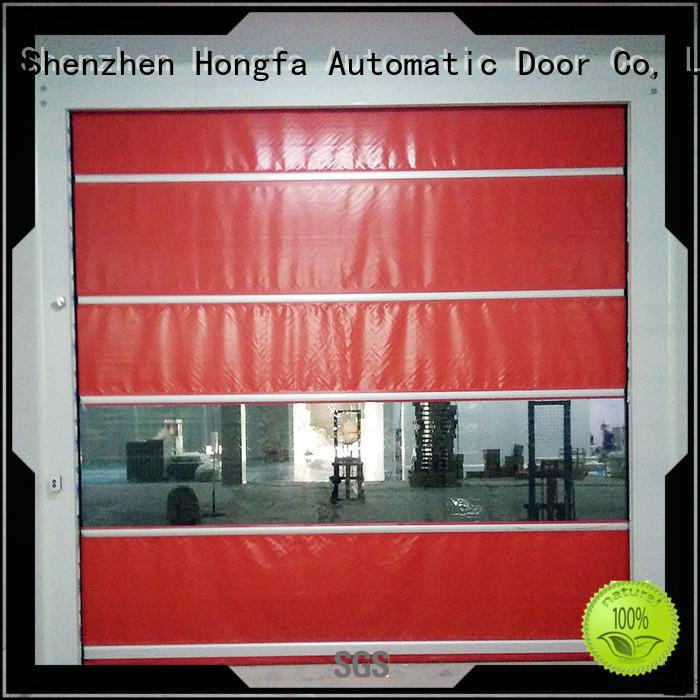 Hongfa shutter high speed shutter door overseas market for supermarket