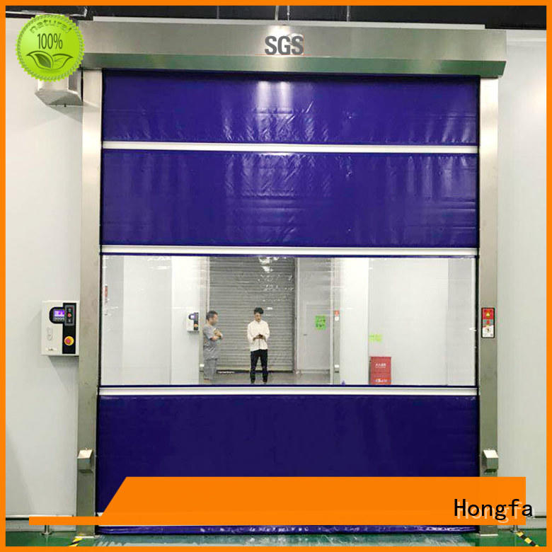 Hongfa Brand plastic room industrial custom industrial roller doors