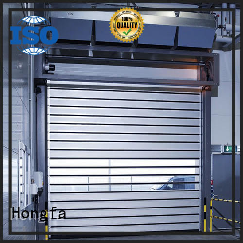 security spiral fast door in different color for factory Hongfa