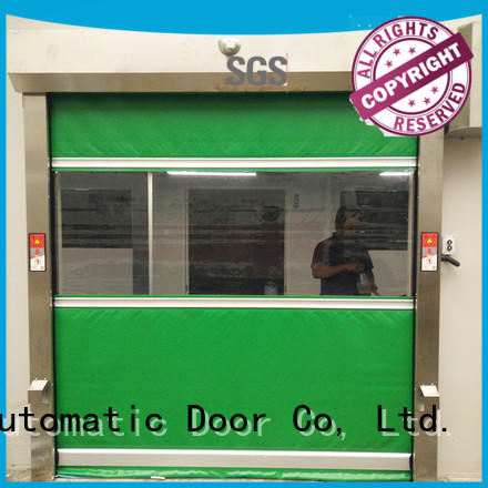 automatic pvc rolling Hongfa Brand industrial roller doors factory