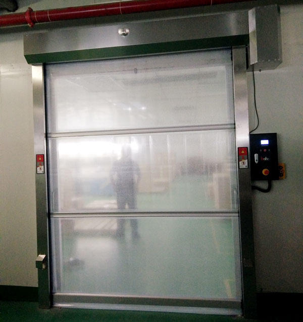 Hongfa rapid roll up door newly for supermarket-3