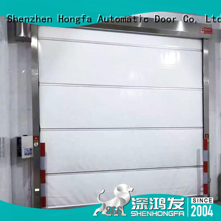 Hongfa perfect automatic roll up door newly for warehousing