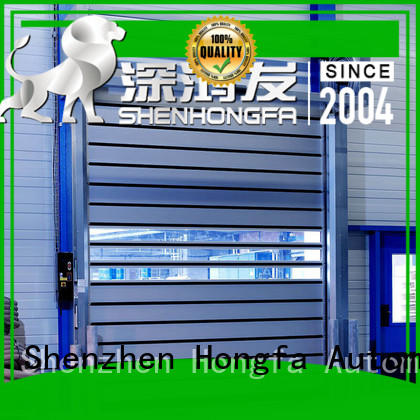 fashion design spiral fast door automatic types for cold room