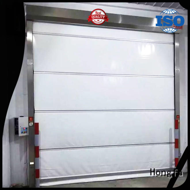 Hongfa efficient roll up door newly for supermarket