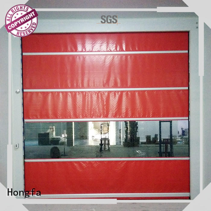 fabric fabric door factory price for storage Hongfa