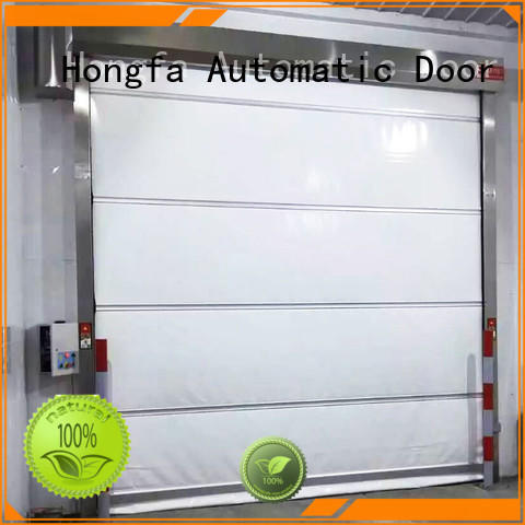 Hongfa industrial cold storage doors marketing for supermarket